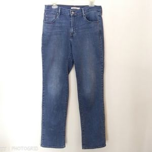 NWOT Levis 505 straight high rise jeans